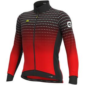 Alé Cycling PR-S Bullet Winter Maglia Jersey A Maniche Lunghe Uomo, nero/rosso